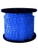 1/2 in. - LED - Blue - Rope Light - 2 Wire - 120V - 150 ft. Spool - Blue Color Tubing with Blue LEDs - IFLC-18-BS
